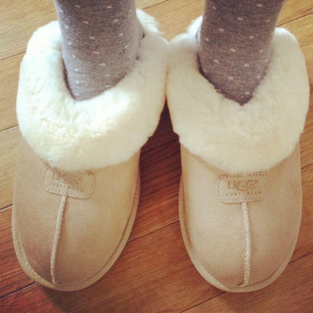 Coquette UGGS slippers