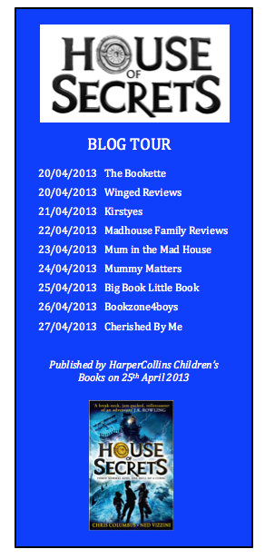 House of Secrets Blog Tour