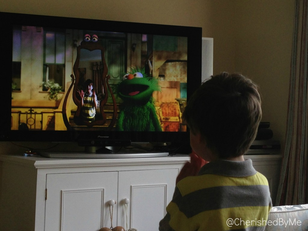 Sesame Street 2 way interactive television