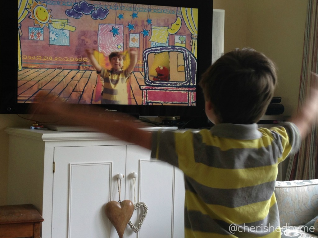 Sesame Street interactive television