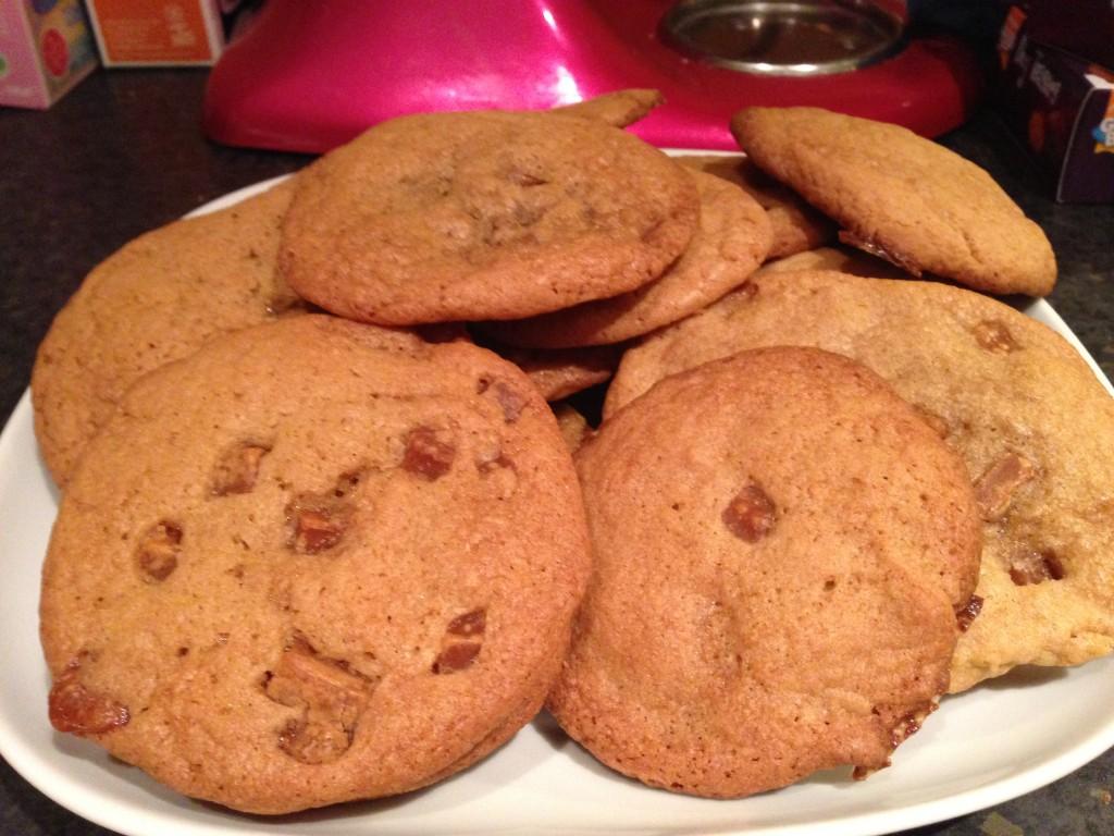 Caramel Nibbles Cookies