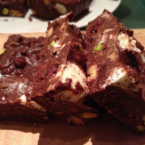 festive fridge cake