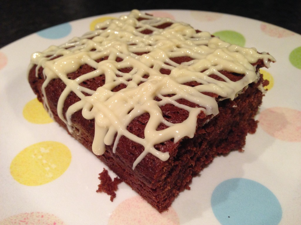 Speedy Chocolate Traybake