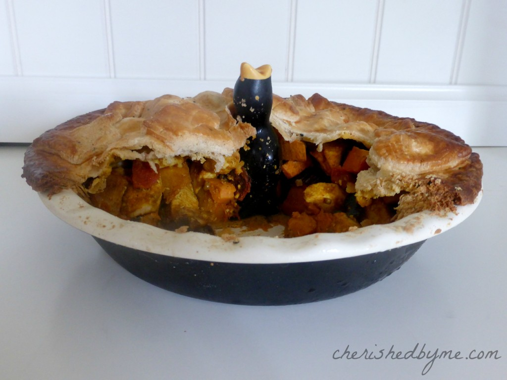 Roasted Butternut Squash, Sweet Potato & Chicken Pie: Higgidy Recipe ...