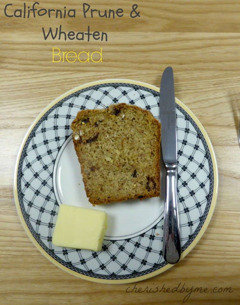 California Prune & Wheaten Bread