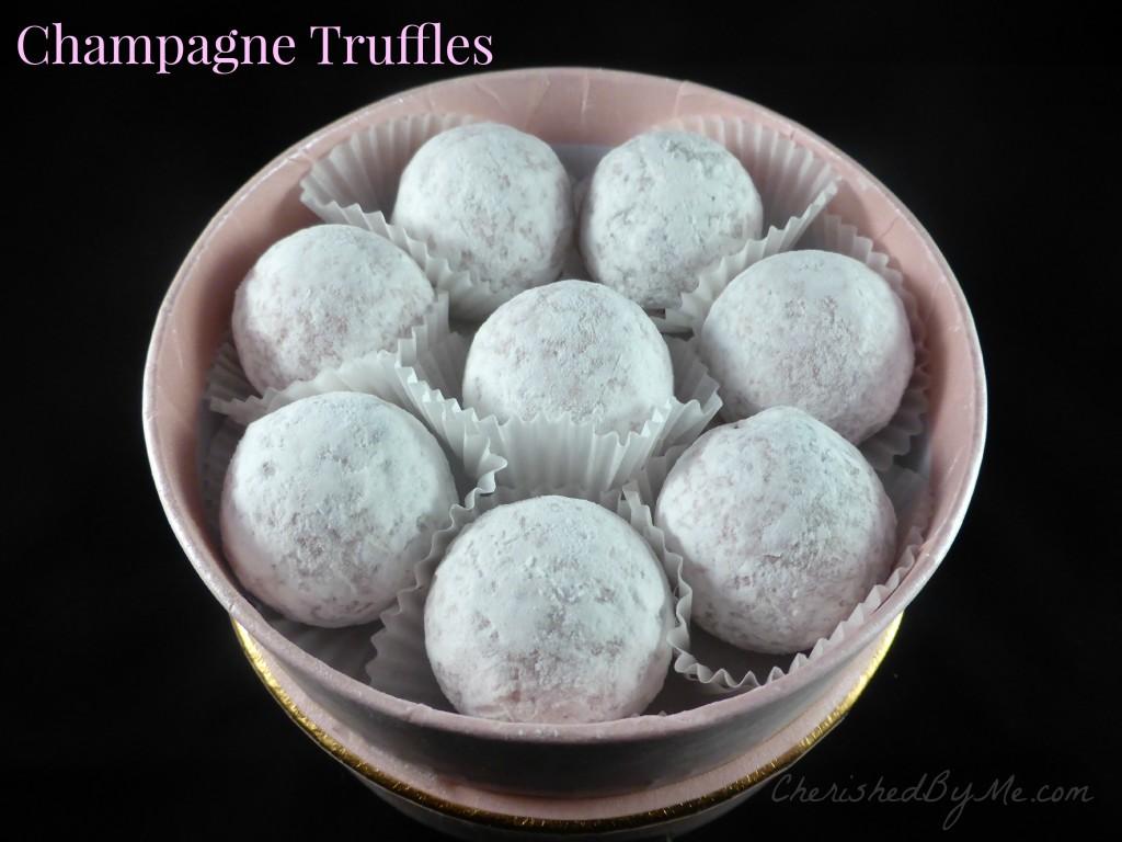 Champagen Truffles