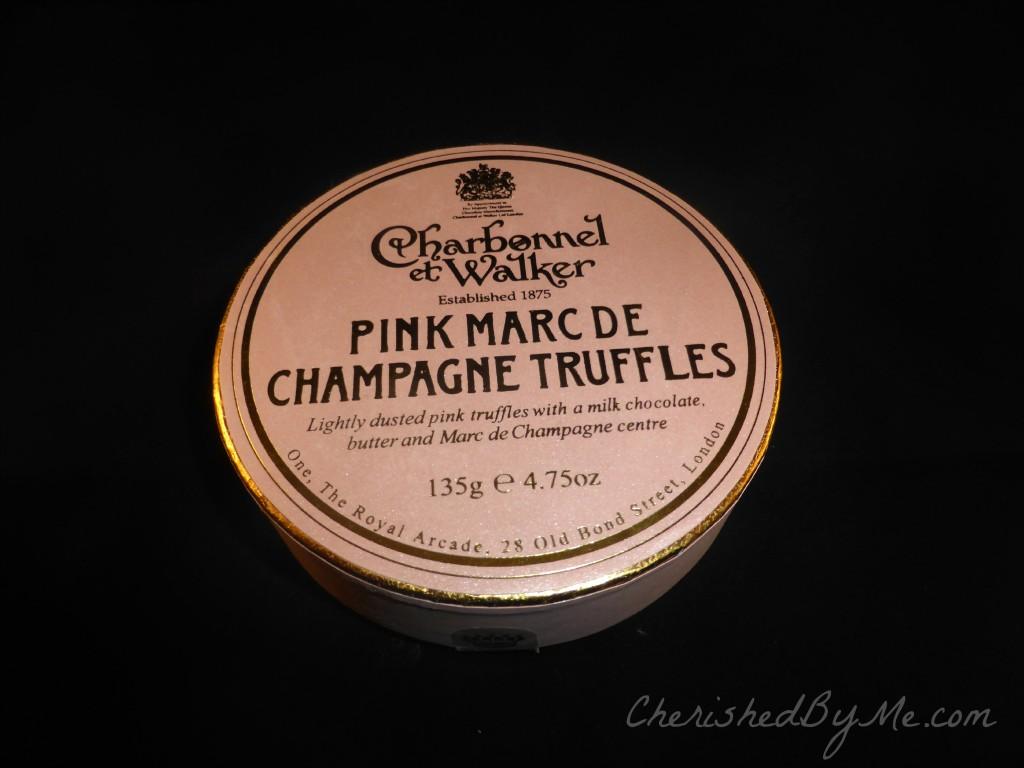 Charbonnel & Walker Pink Marc de Champagne Truffles 1