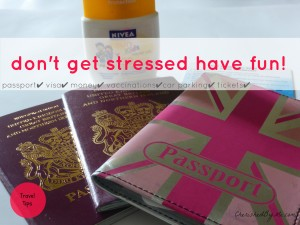 reduce the stress of travel