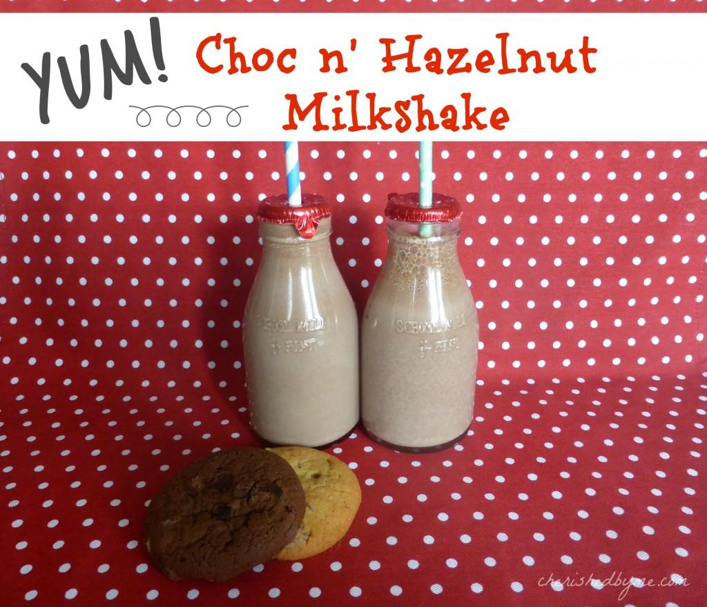 Choc n' Hazelnut Milkshake
