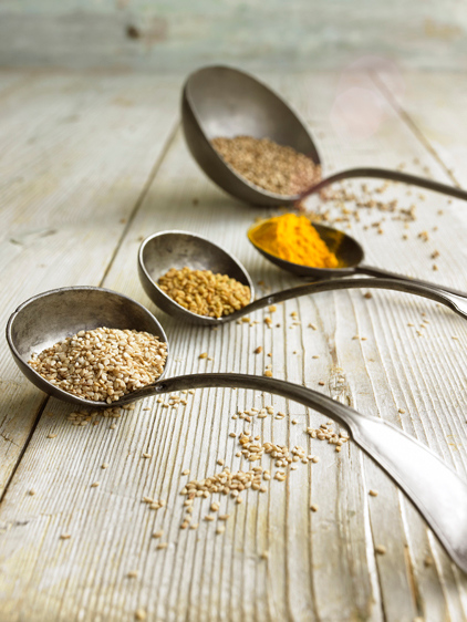 Spoons witth Spices
