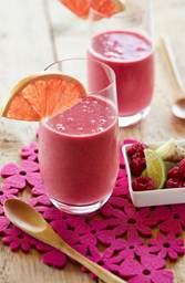 Sunshine Grapefruit Smoothie
