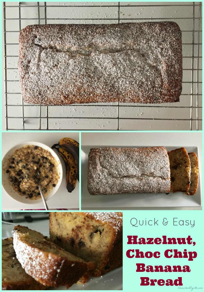A deliciously quick & easy banana bread recipe