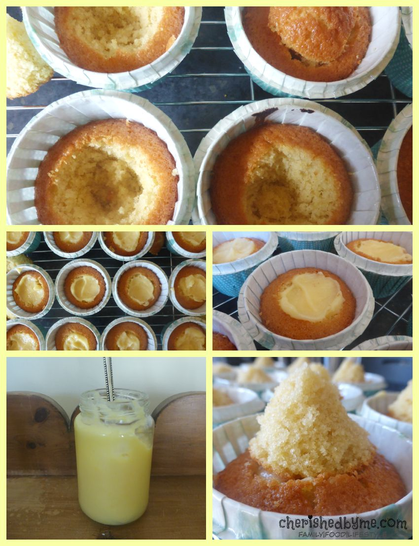 How to make lemon meringue cupcakes