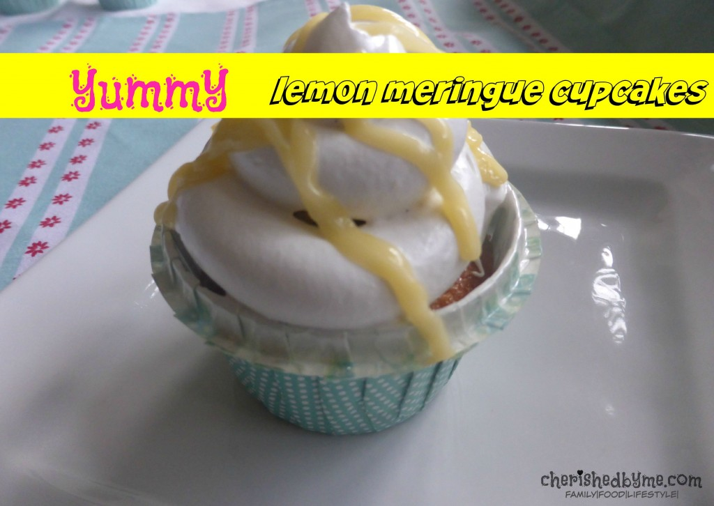 yummy lemon meringue cupcakes