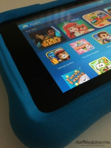Apps on the Fire HD Kids Edition