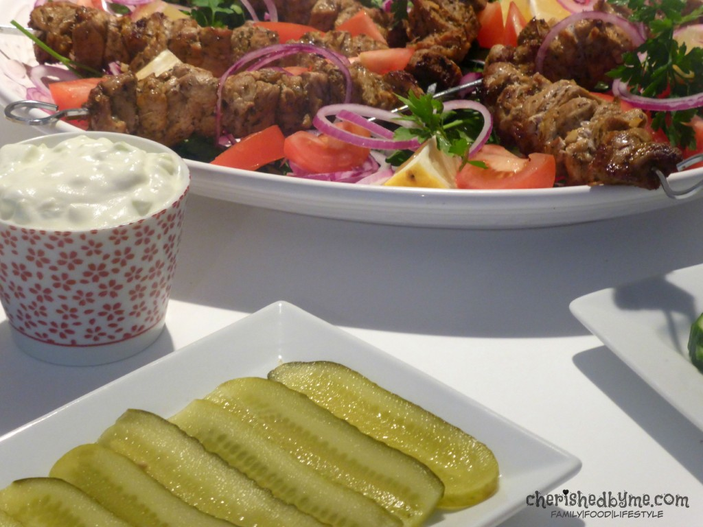 Bring the sunshine to you! Cypriot souvlaki & homemade tzatiki