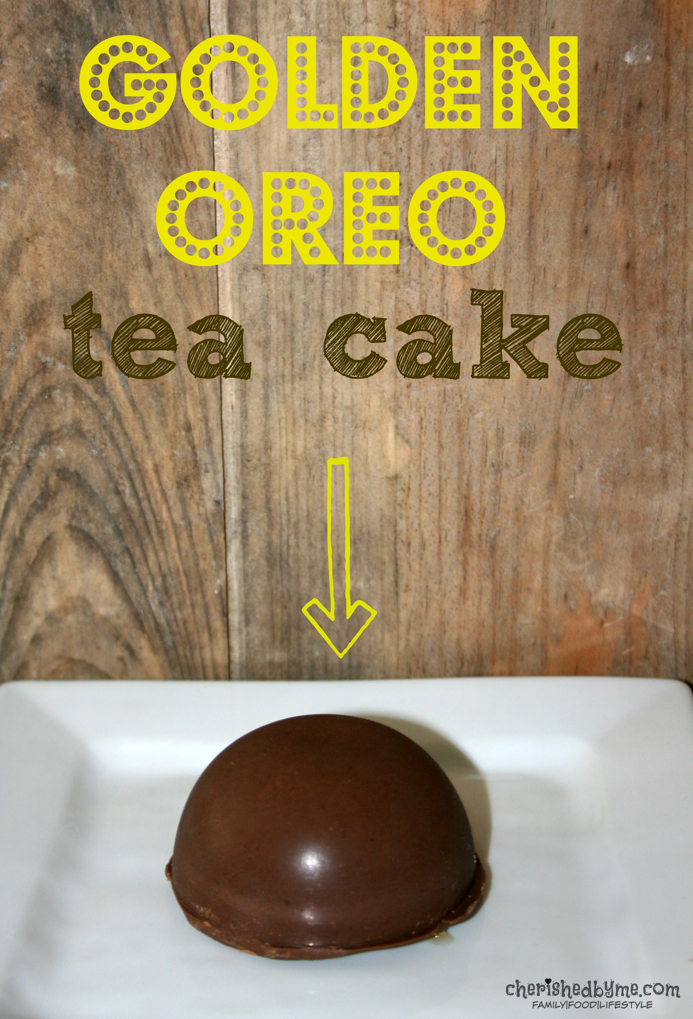 Make these easy golden Oreo tea cakes today