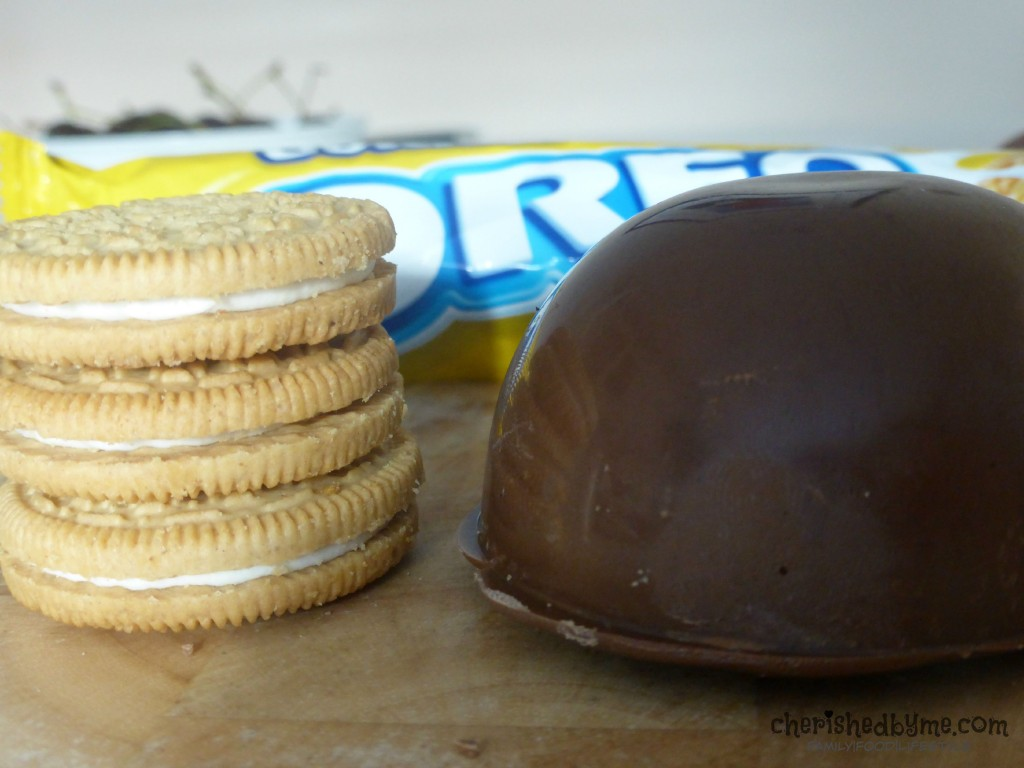 Make yummy tea cakes with Golden Oreos
