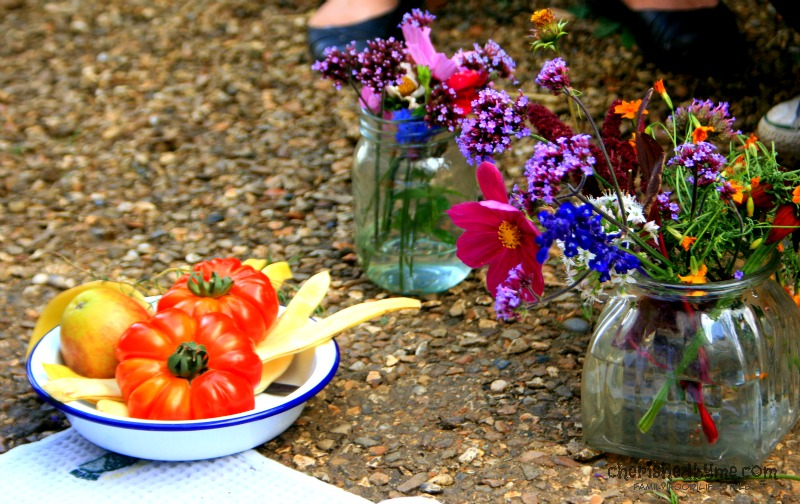 Food styling tips with Lucy Heath at Blog Camp River Cottage