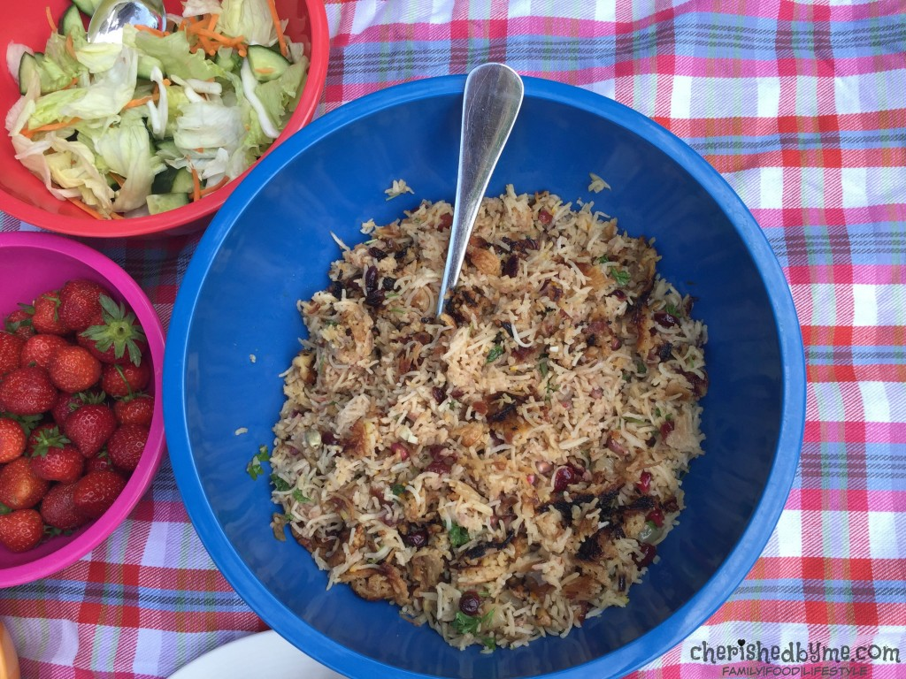 Make this easy jewelled aromatic rice dish for dinner tonight