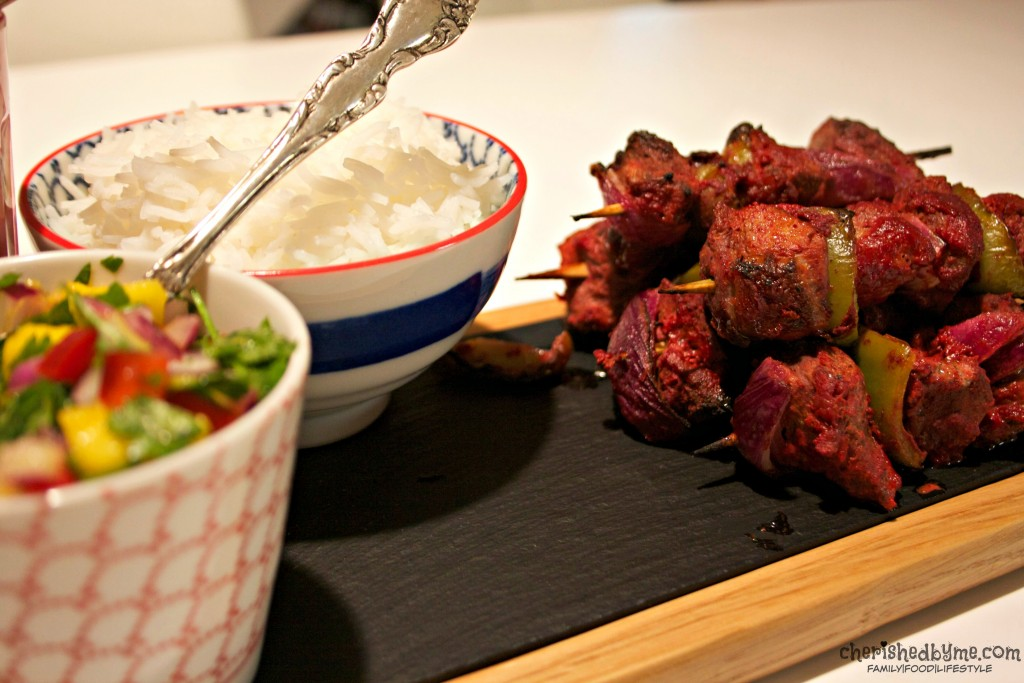 Add a little spice to your life with these yummy tandoori lamb kebabs