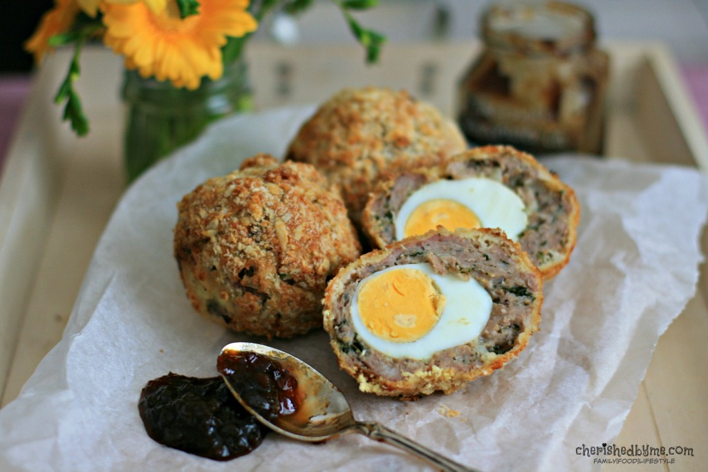 Delicious, tasty and easy to make homemade scotch eggs, so much nicer than shop bought ones