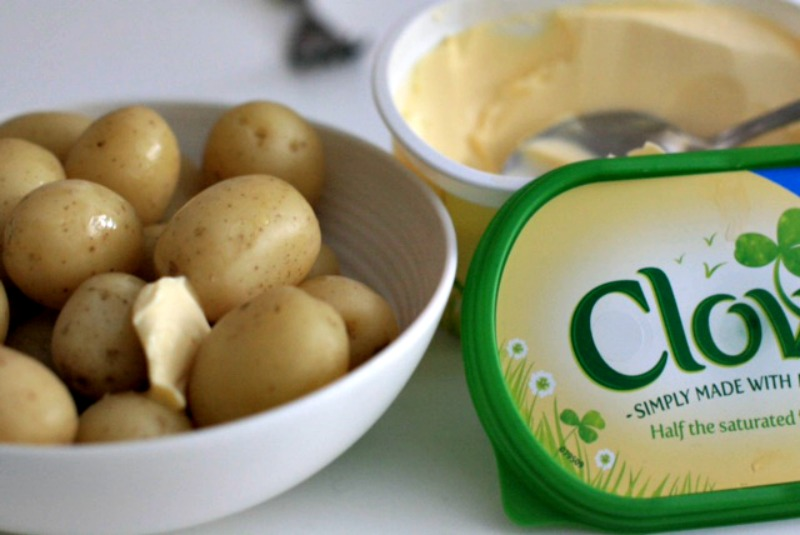 Jazz up your potatoes with #NothingArtificial & Clover- Cherished By Me