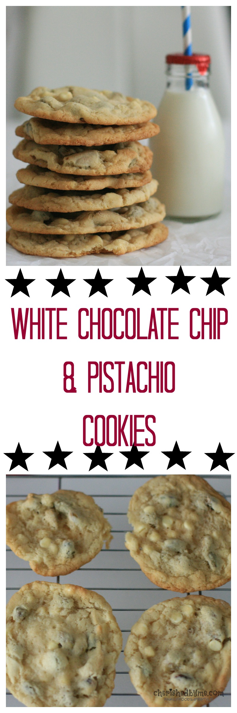 Kids Kitchen Get your kids cooking these delicious white chocolate chip pistachio cookies today- Cherished By Me