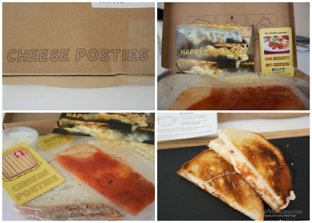 Subscription grilled cheese sandwiches, get your cheese on toast in the post!