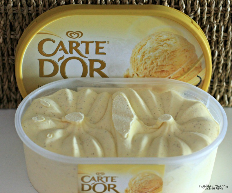 Carte D'Or Vanilla ice-cream, mmmm- Cherished By Me