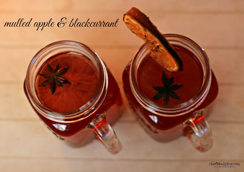 Jazz up your squash and make a mulled apple & blackcurrant drink- Cherished By Me