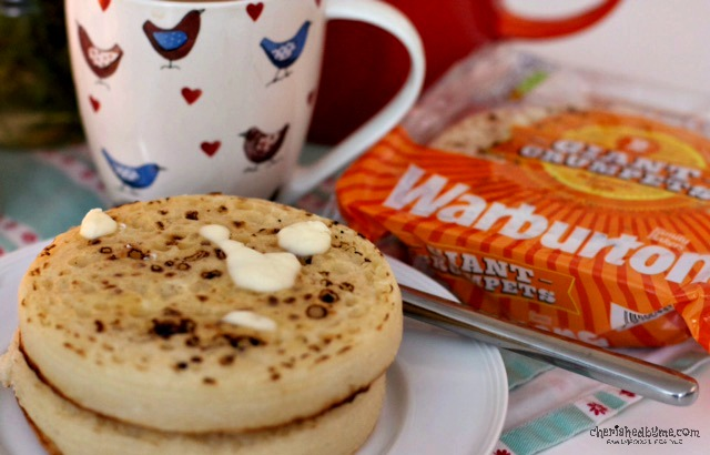 Warburtons Giant Crumpets- Cherished By Me