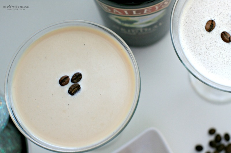 Wow your guests with a flat white martini made with Baileys- Cherished By Me