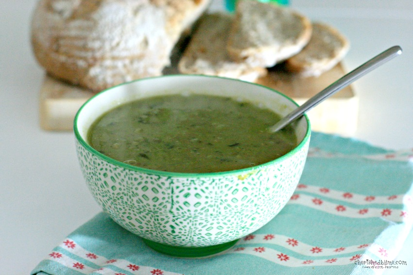 Vietnamese Supergreens soup from Glorious!- cherishedbyme
