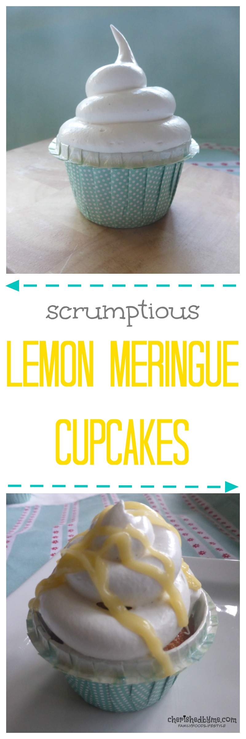 Delicious lemon meringue cupcakes- cherishedbyme