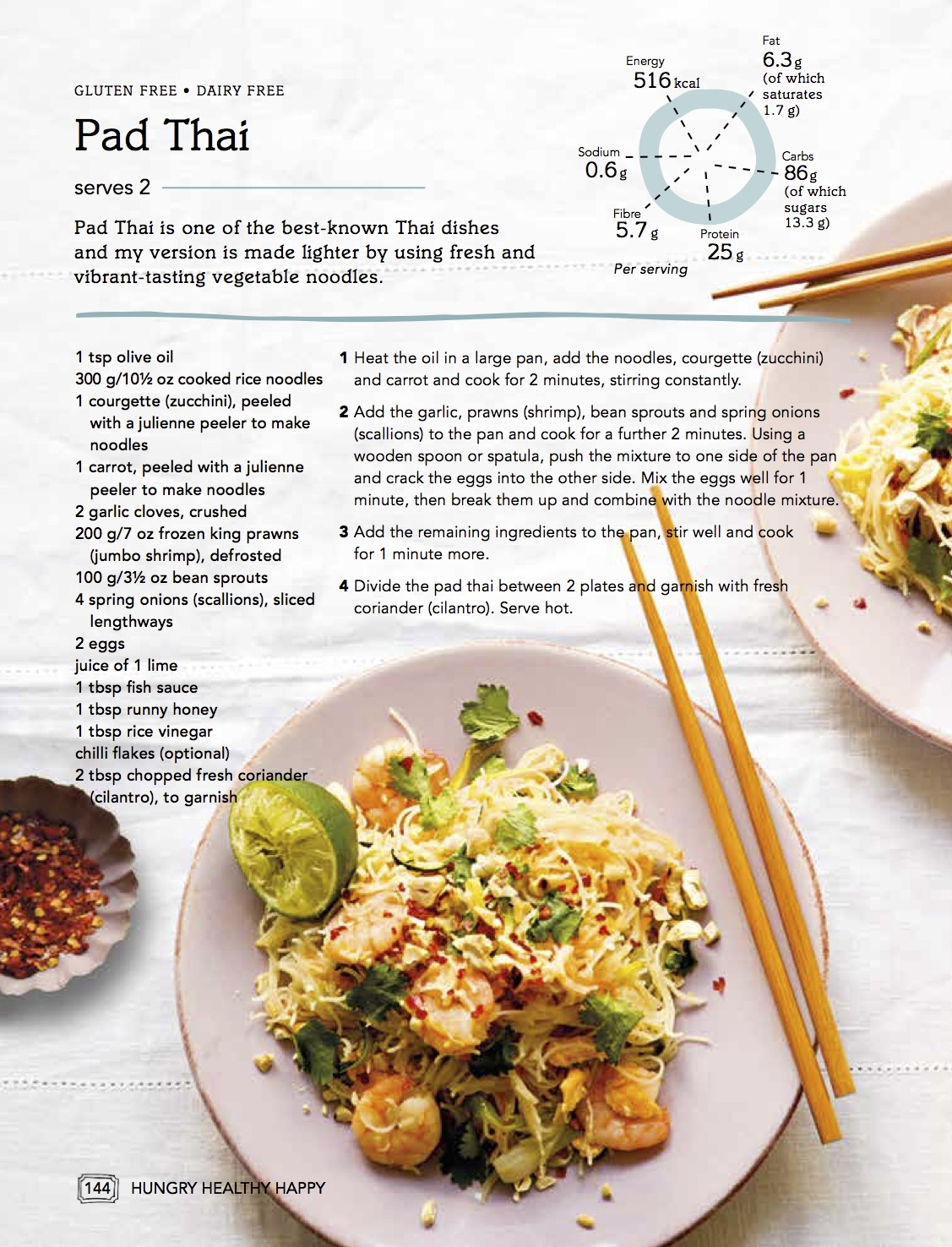 Pad Thai from Hungry Healthy Happy- Dannii Martin