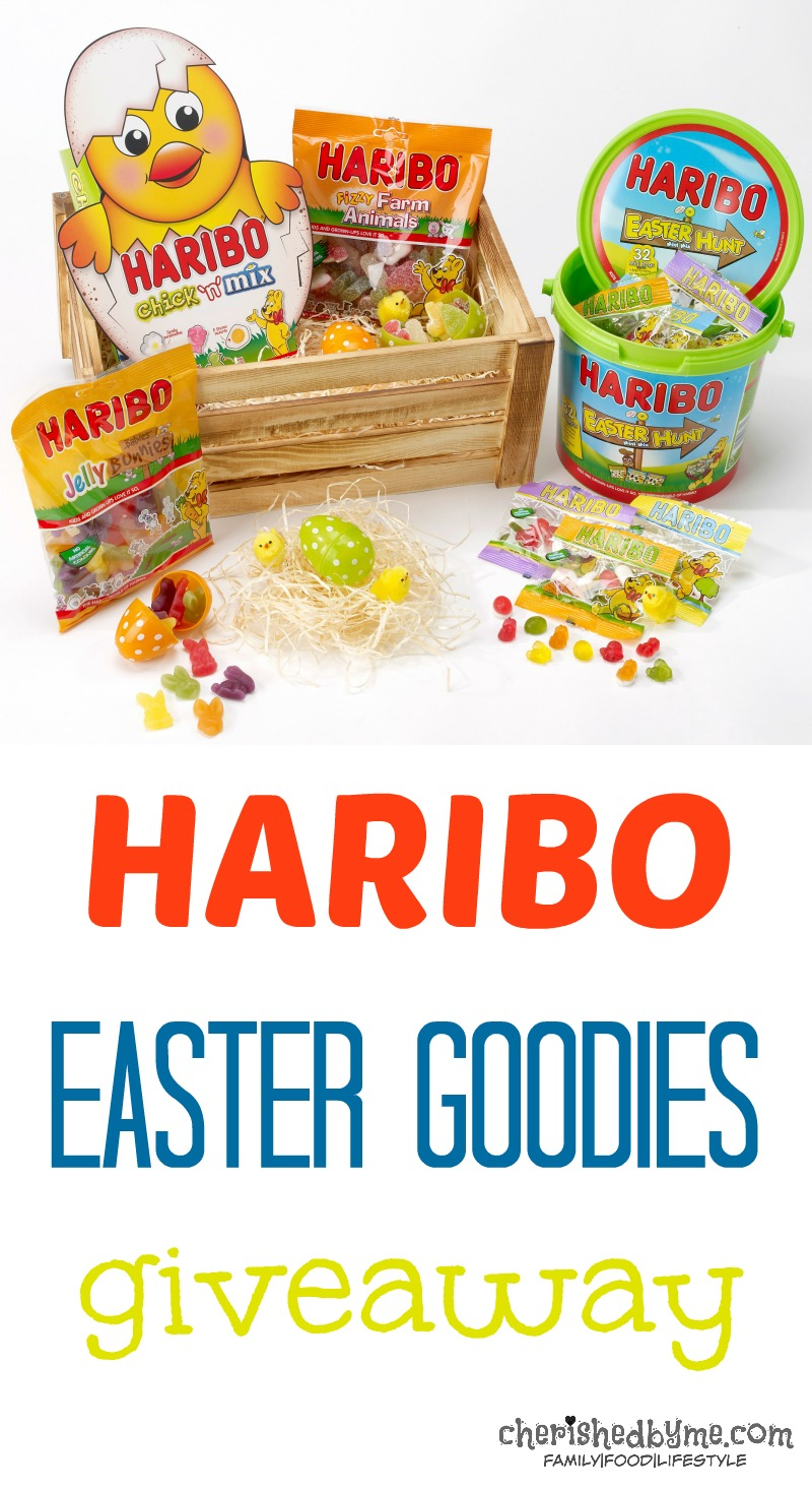 Win a Haribo Easter Goodies Box- cherished by me
