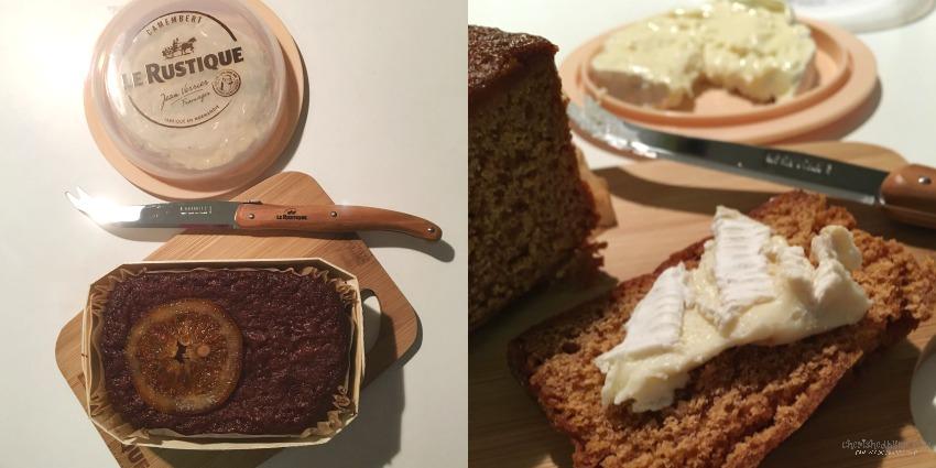 Le Rustique Camembert and Maison Toussaint Cake cherishedbyme.com