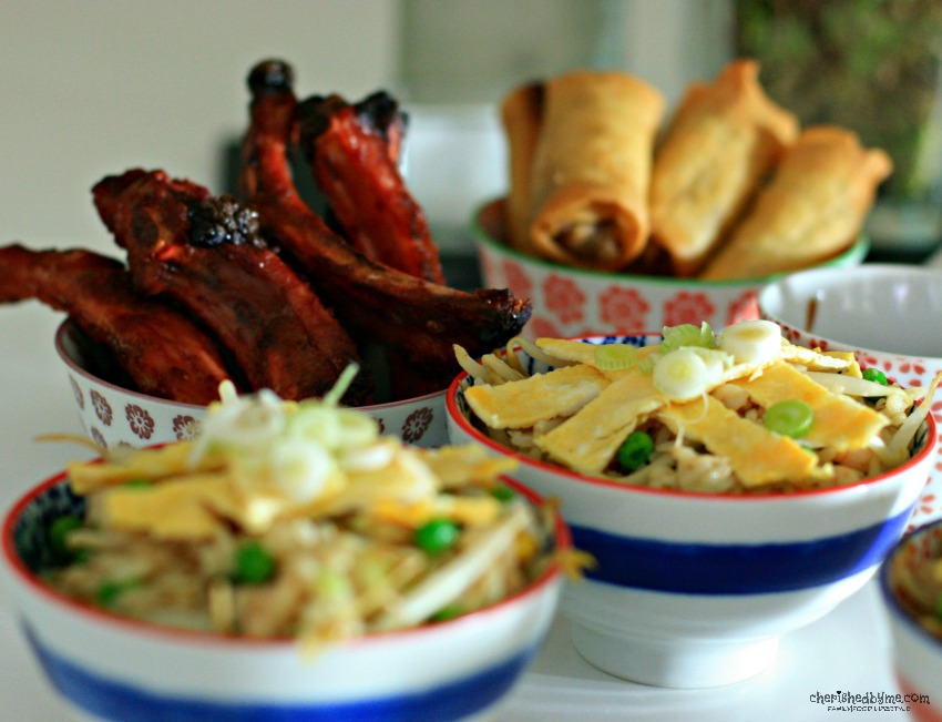 Chines fakeaway, ribs and special fried rice cherishedbyme.com