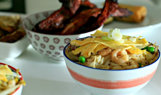 Chinese ribs and special fried rice, a perfect family friendly meal  cherishedbyme.com