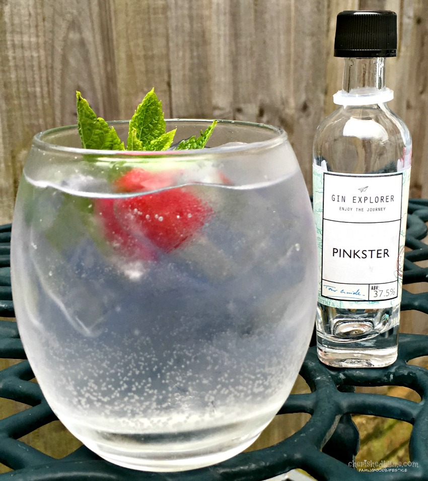 Pinkster gin, keeping it simple- cherishedbyme.com