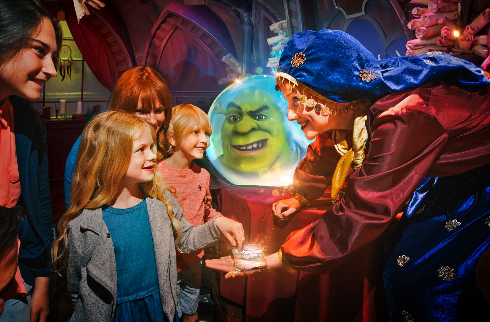 Library images of Shrek's Adventure London. © Mikael Buck / Shrek's Adventure