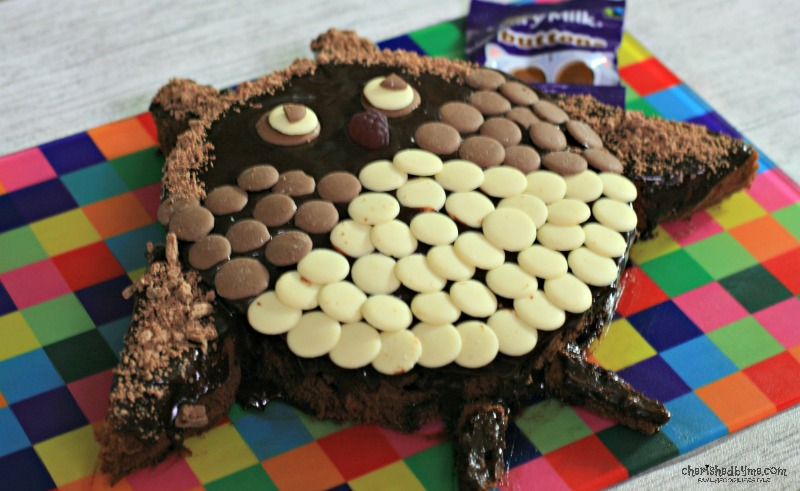 A delicious and cute chocolate buttons owl cake cherishedbyme.com