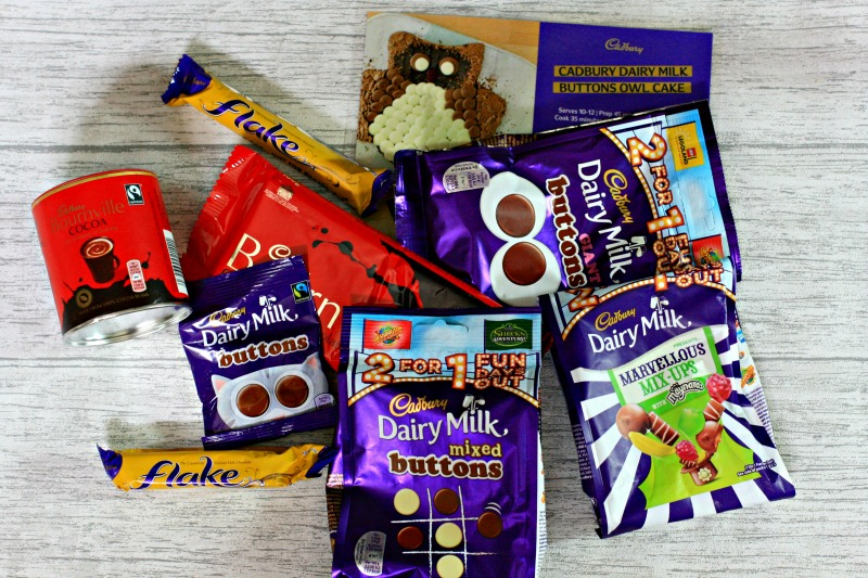Get ready to make a Cadbury Dairy Milk Buttons Owl Cake cherishedbyme.com