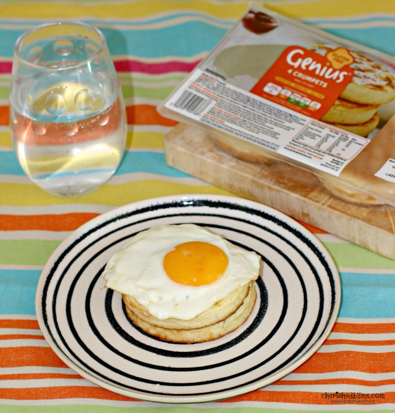 You can't beat eggs for breakfast, and pair them with Genius gluten free crumpets cherishedbyme.com