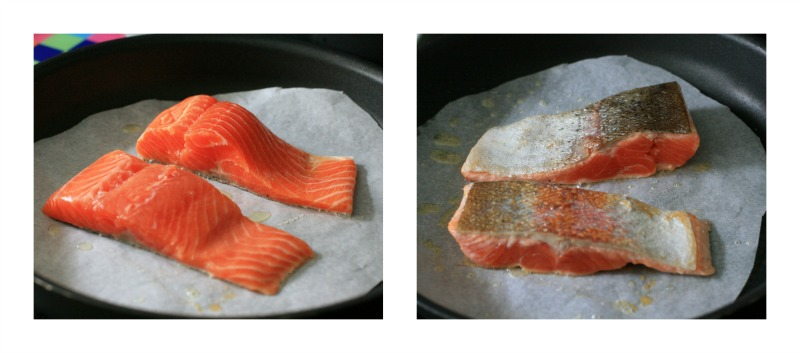 Fry the trout for a couple of minutes each side...it's as easy as that!