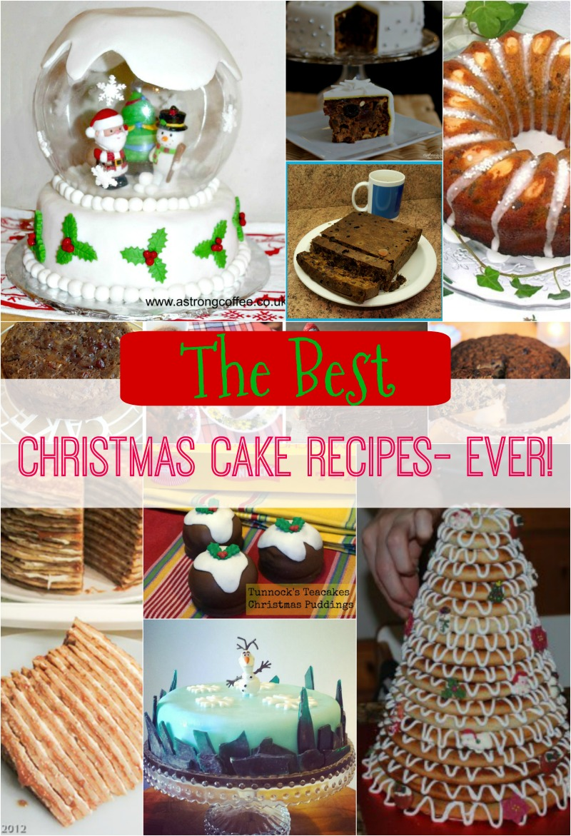 Christmas Cake Design Recipes : 20 + Fabulous Christmas Cake Recipes from traditional, to ...