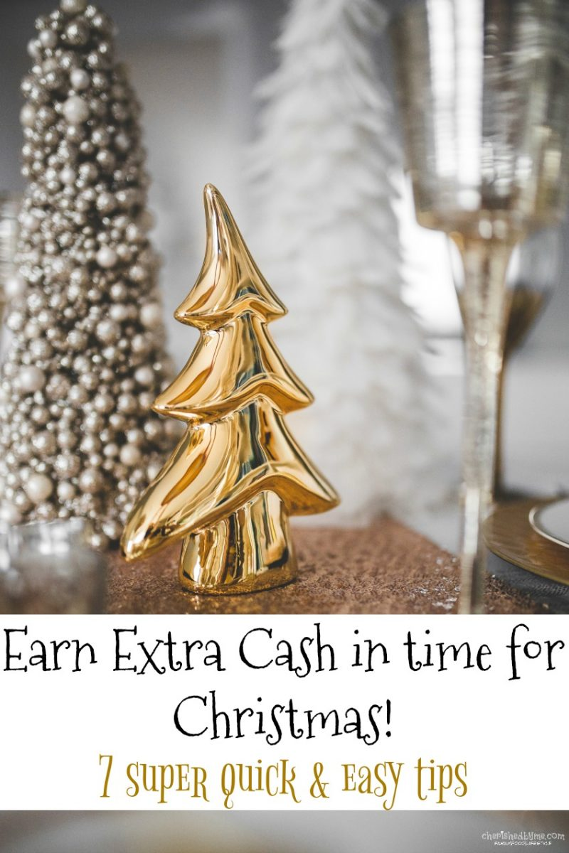 Earn cash for Christmas
