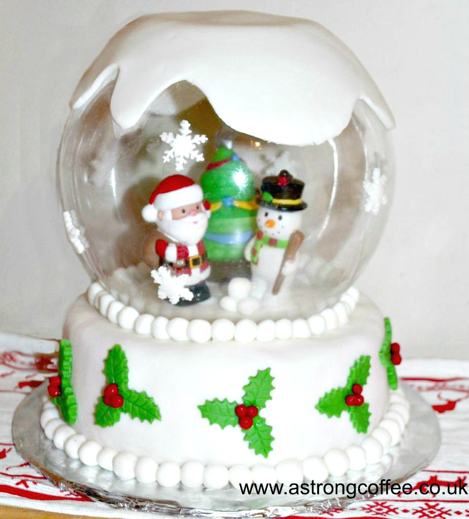 how to make a snow globe with vegetable oil