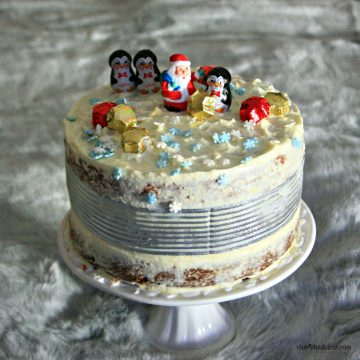 Carrot Christmas Cake